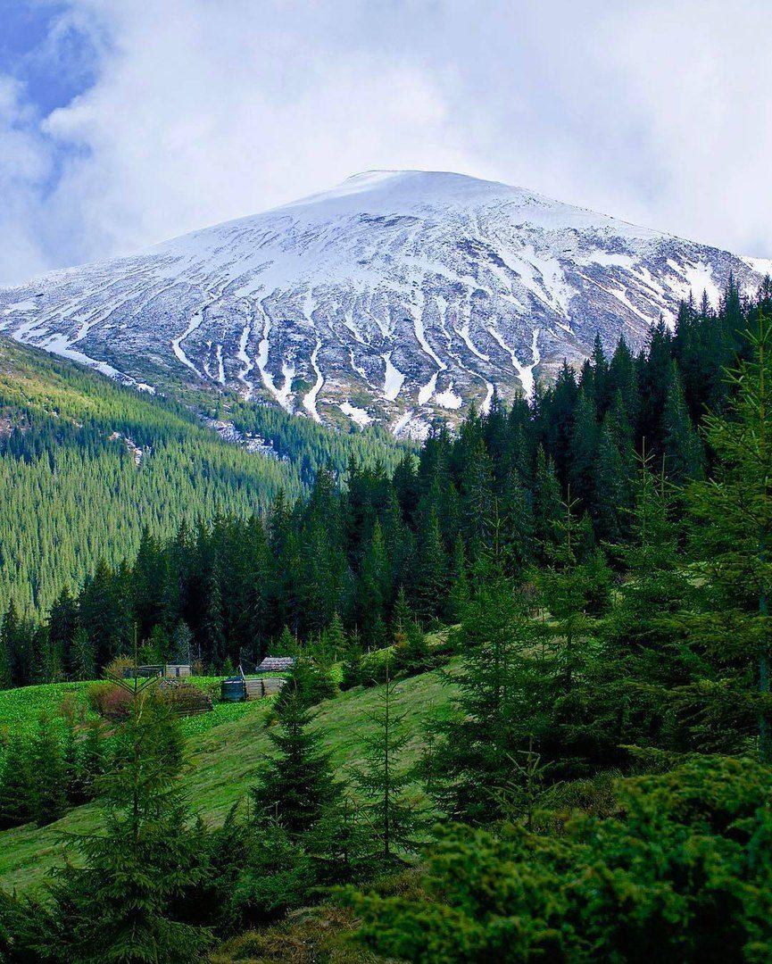 Карпаты-гора-Говерла.